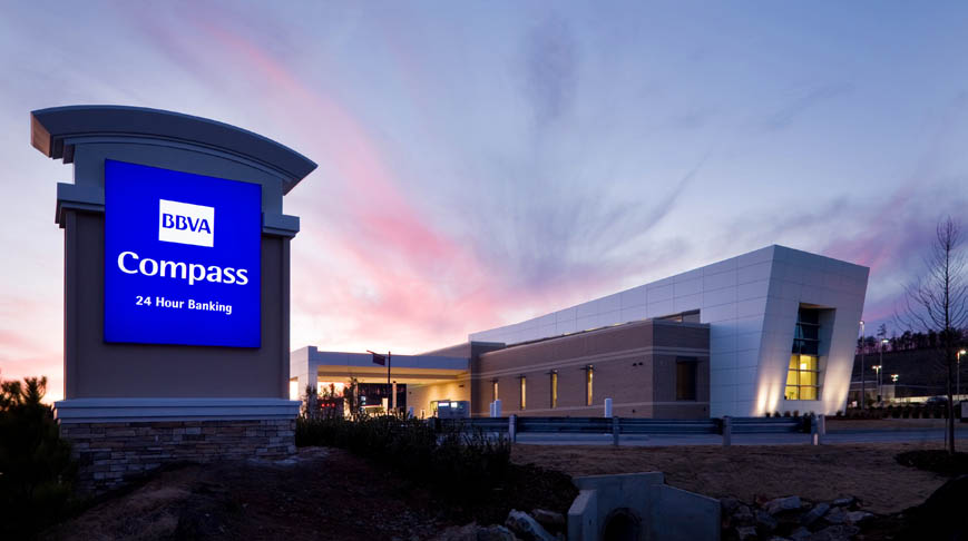 BBVA Compass Bank at The Grove - Doster Construction