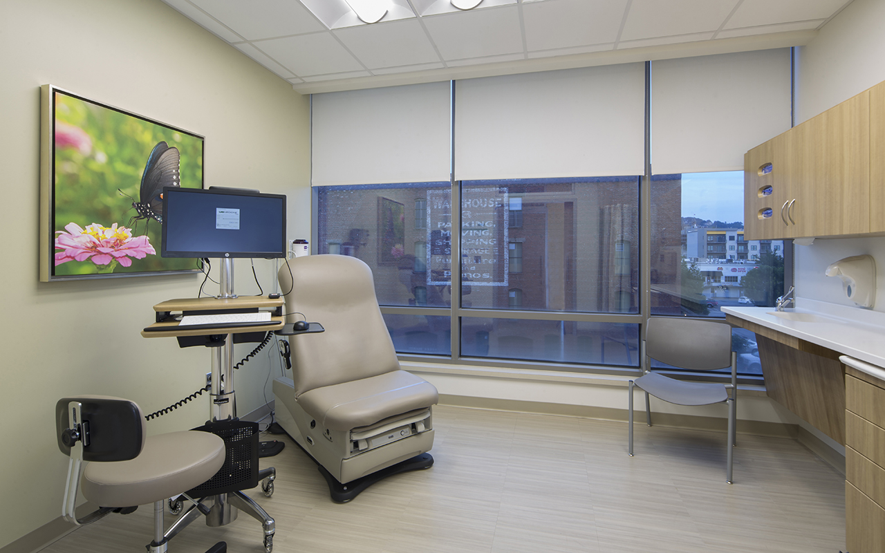 Whitaker clinic of uab hospital doster construction for The green room birmingham