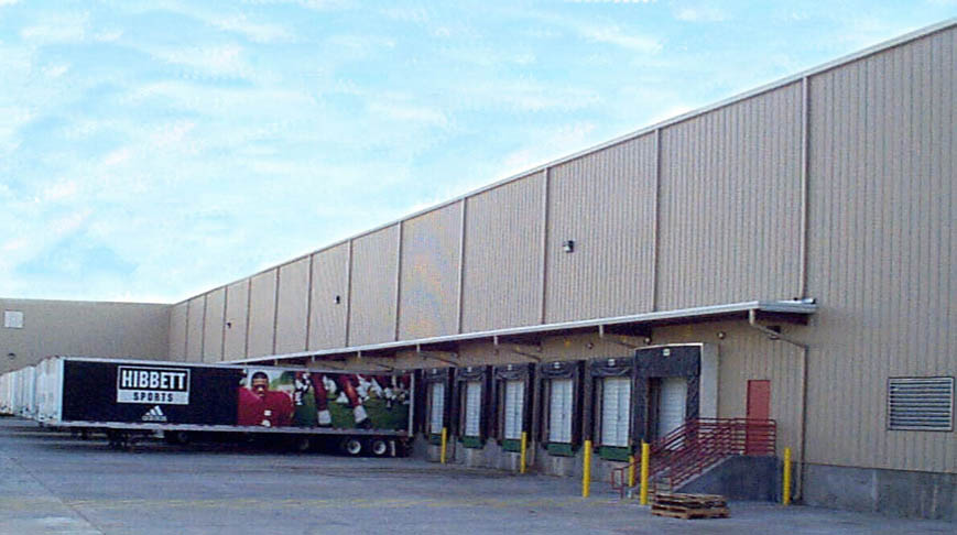 Hibbetts Sporting Goods Distribution Center Expansion