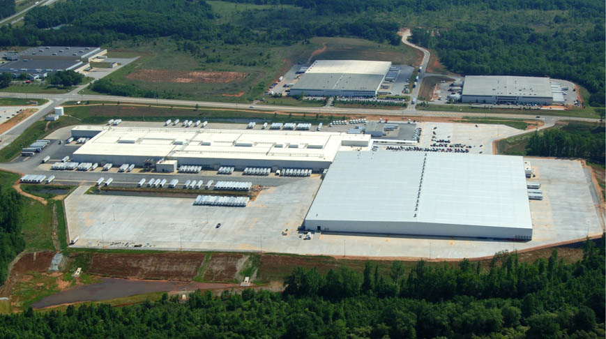 Wal-Mart Distribution Center - Doster Construction